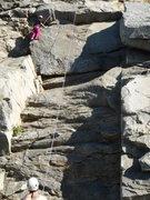 Rock Climbing Photo: Riverside Quarry - The Energy Blues 11/30/10