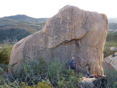 Rock Climbing Photo: This is Small Bar... before it was a climb.