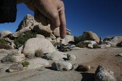 Rock Climbing Photo: This is Agina Sedler.