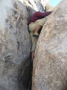 Rock Climbing Photo: Albert bouldering around.