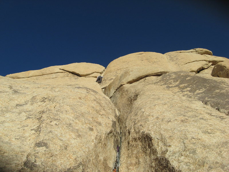 Rock Climbing Photo: Agina on Beginners Two on the Blob.