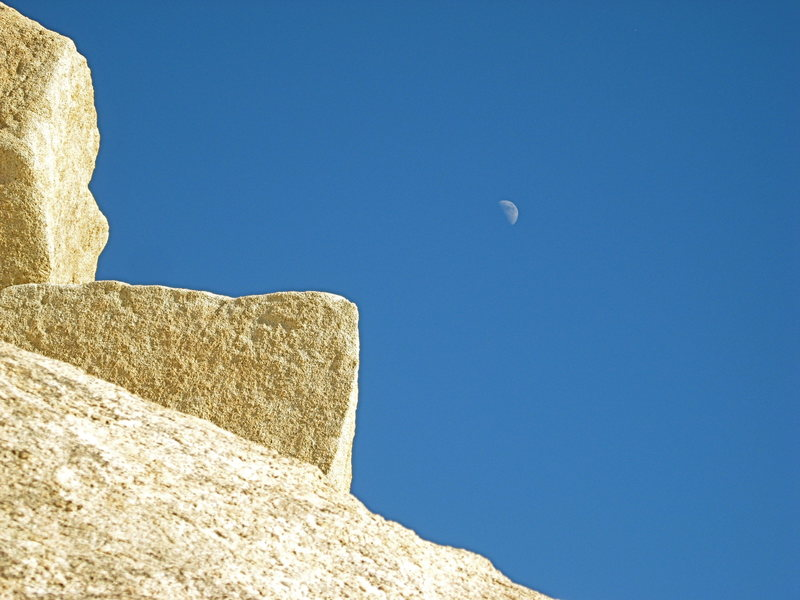 Rock and Moon
