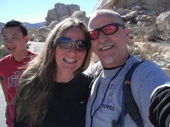 Rock Climbing Photo: Always fun to run into Sheila.
