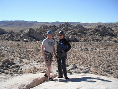 Rock Climbing Photo: Kevin and Agina after Kevins' first time on real r...