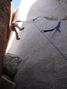 Rock Climbing Photo: Me leading Buissonier.