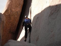 Rock Climbing Photo: Agina on Buissonier.