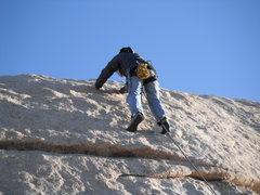 Rock Climbing Photo: Nathan on A Walk on the Beach.