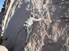 Rock Climbing Photo: Agina on A Walk on the Beach.