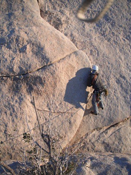 Rock Climbing Photo: Nathan on Ballbury.