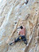 Rock Climbing Photo: Kerperos 7a in Kalimnos ,