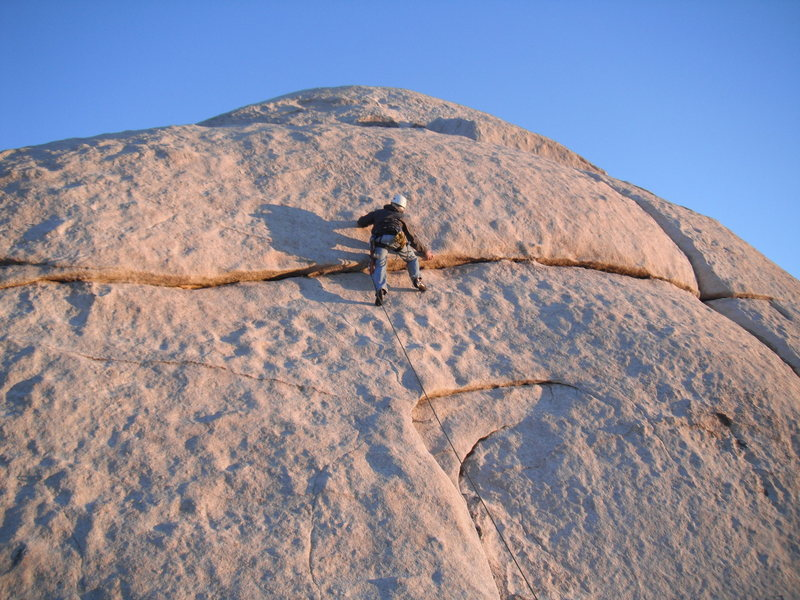 Rock Climbing Photo: Nathan on Ballbury.