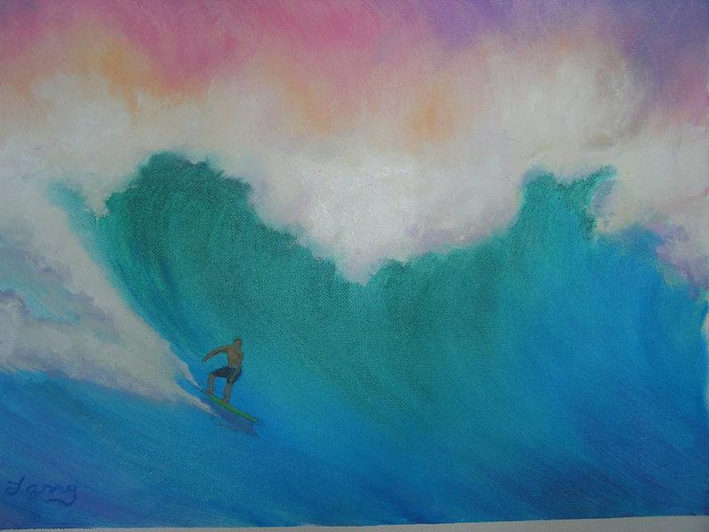Another Karen Lang painting.