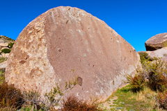 Rock Climbing Photo: Coco Boulder in cottenwood camp area