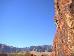 Rock Climbing Photo: Paul B running amuck