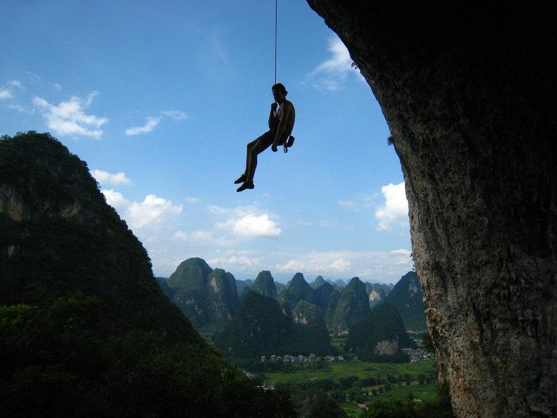 Rock Climbing Photo: Moonhill