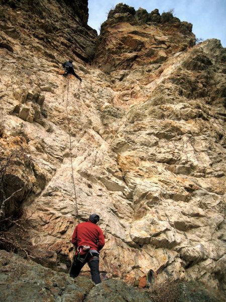 Rock Climbing Photo: rock canyon 10a