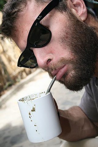 Rock Climbing Photo: Enjoying a messy Maté in San Marcos, Guatemala.