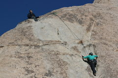 Rock Climbing Photo: Agina on Lazy Day. Kevin G  getting sleepy?