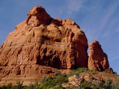 """Rock Climbing Photo: East face of """"japhead"""", you can see wher..."""
