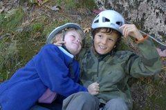 Rock Climbing Photo: Emma & Aidan