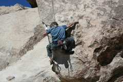 Rock Climbing Photo: Kevin Graves on Garden Angel.