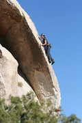 Rock Climbing Photo: Agina on Garden Angel.