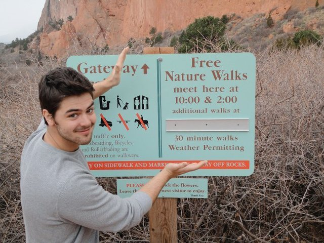free nature walks are fun