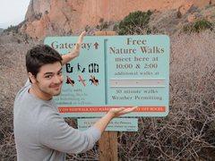Rock Climbing Photo: free nature walks are fun