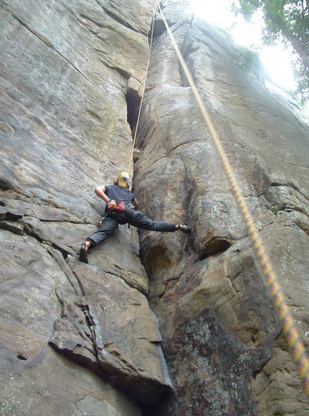 Rock Climbing Photo: NRG, WV