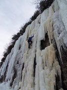 Rock Climbing Photo: TR Solo at Hogpen Gap