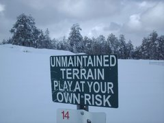 Rock Climbing Photo: Navajo Nation - At Your Own Risk
