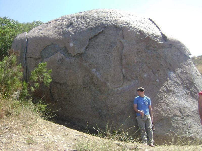Rock Climbing Photo: Face.