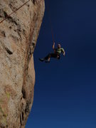 Rock Climbing Photo: after leading Close to the Edge 5.10a