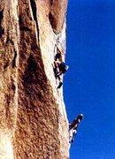 Rock Climbing Photo: Sail Away 5.11a Joshua Tree, CA