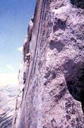 Rock Climbing Photo: Half Dome RNWF Thank God Ledge Yosemite, CA