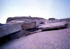 Rock Climbing Photo: Half Dome RNWF 2nd Zig Zag Pitch Yosemite, CA