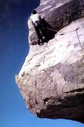 Rock Climbing Photo: The Block 5.6 Joshua Tree, CA