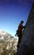 Rock Climbing Photo: The Vampire 5.11a Tahquitz Rock, CA
