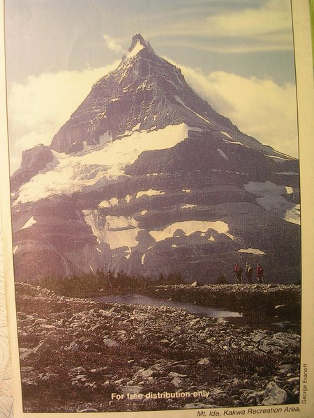 Rock Climbing Photo: Mt Ida (10,472ft)
