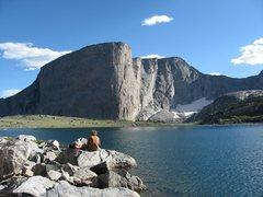 Rock Climbing Photo: Baptiste lake