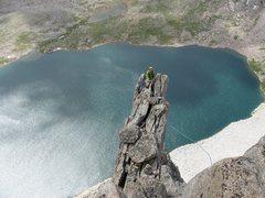Rock Climbing Photo: Upper ridge of W. Butt