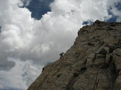 Rock Climbing Photo: sneaker solo on Hooker, waiting for good weather