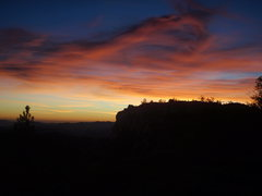 Rock Climbing Photo: An impressive and symbolic sunset after such a gre...