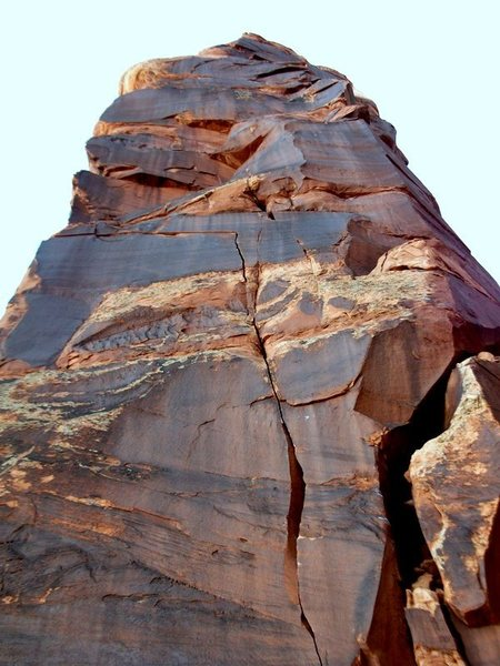 Rock Climbing Photo: The north face of Disappearing Angel, Satan's Reve...