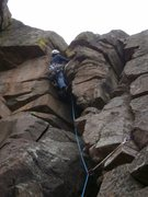 Rock Climbing Photo: Watch yourself here, there are A LOT of pigeons li...