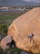 Rock Climbing Photo: Surrealistic pillar