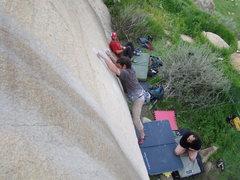 Rock Climbing Photo: Flabob