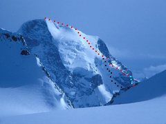 Rock Climbing Photo: Mount Sir Sanford Photo by Wikipedia contributor T...
