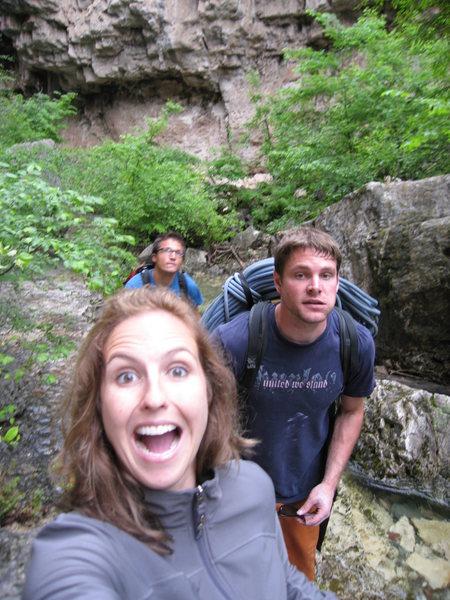 hike yo but out this canyon