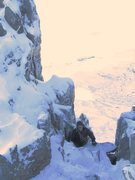 Rock Climbing Photo: Jim Lee , Dec 2010 on Bristly Ridge, Glyder Fach